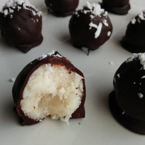 Naughty Coconut Bites