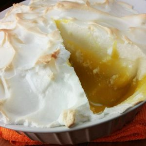 No-Crust Lemon Meringue